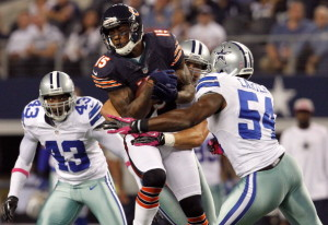 BIg games expected by all WRs including Bears Brandon Marshall