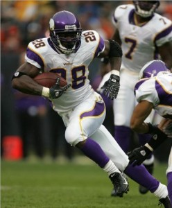 Vikings RB Adrian Peterson wins 3rd rushing title
