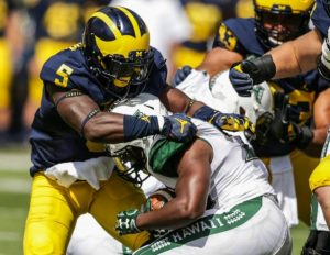 Jabrill Peppers leads Michigan's dominant No. 1 scoring defense