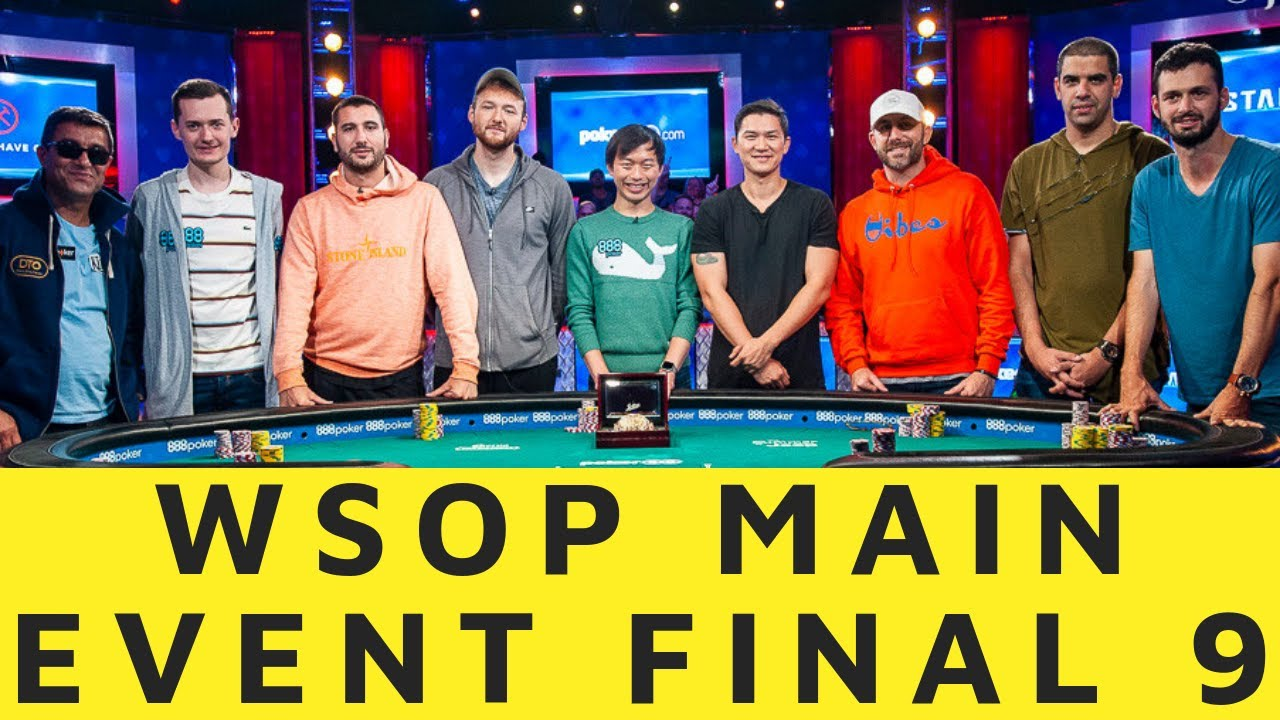 Final Table And Player Profiles At The 2019 World Series Of
